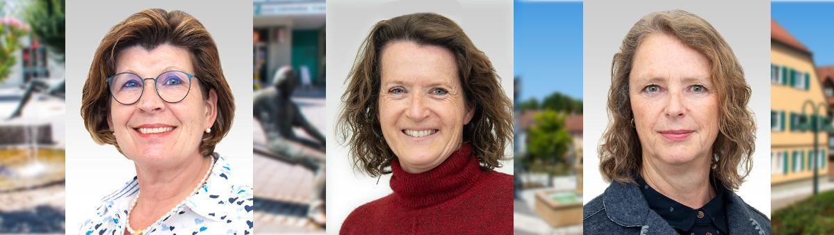 Gemeinderatswahl 2019: Christiane Grosskinsky - Elke Rebscher - Sybille Ott