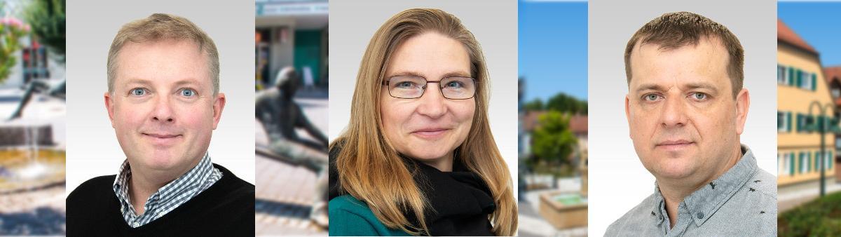 Gemeinderatswahl 2019: Thomas Söhner - Tadjana Hummel - Andreas Piela